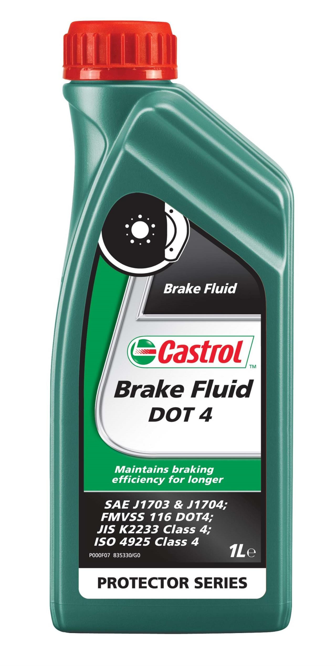 Castrol Brake Fluid Dot 4 1 ltr.