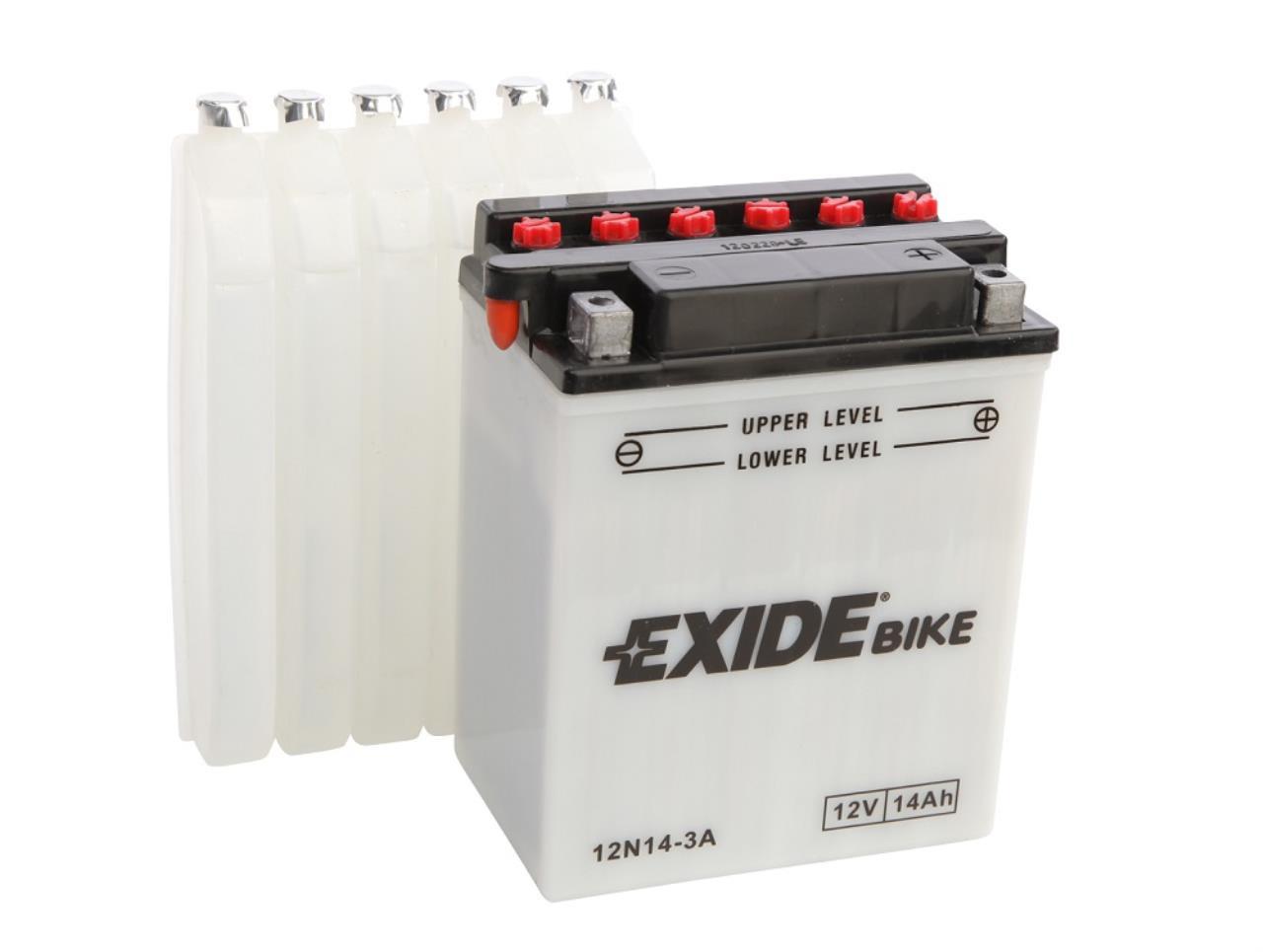 Startbatteri 12N14-3A