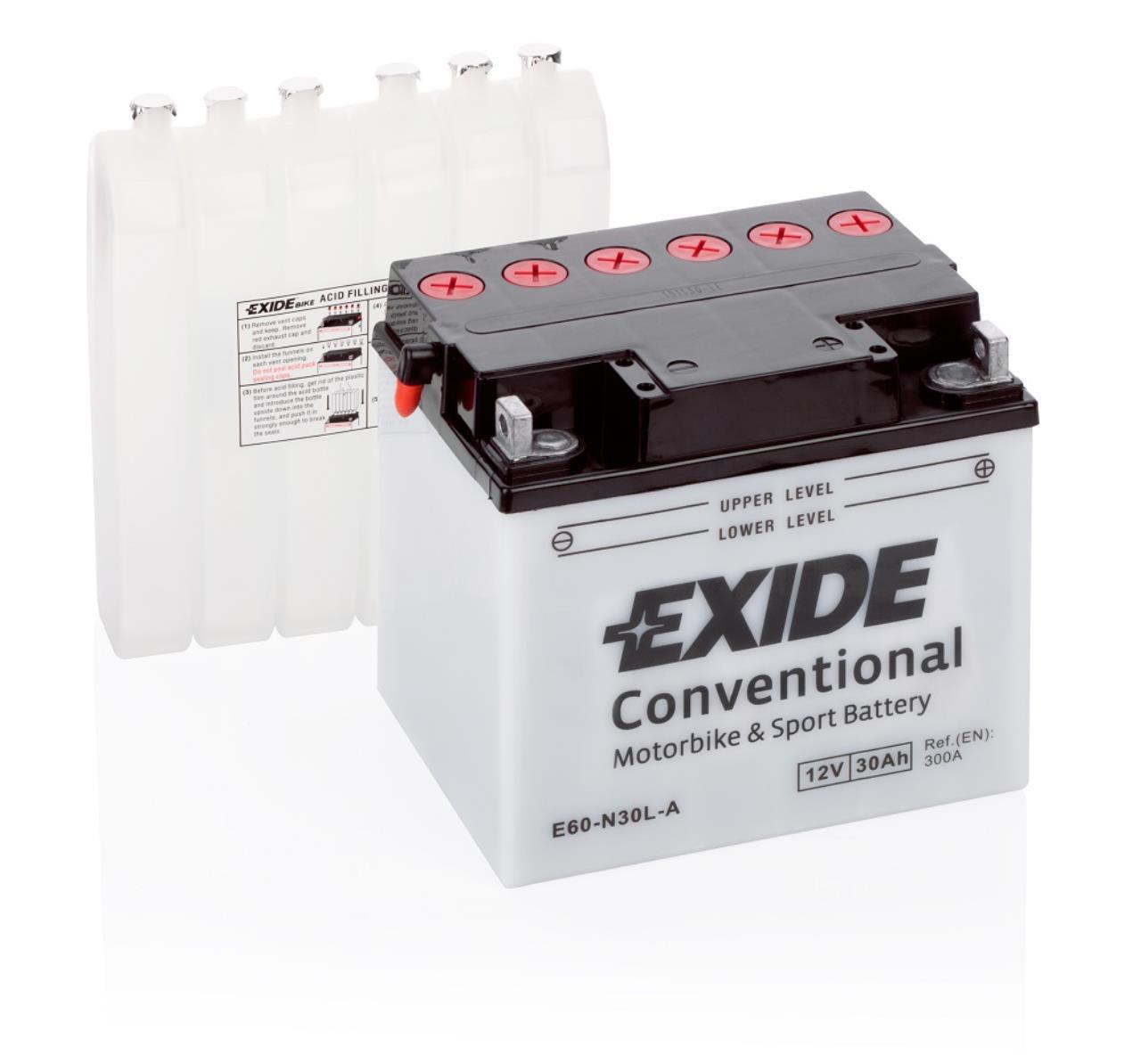Startbatteri 30AH E60-N30L-A