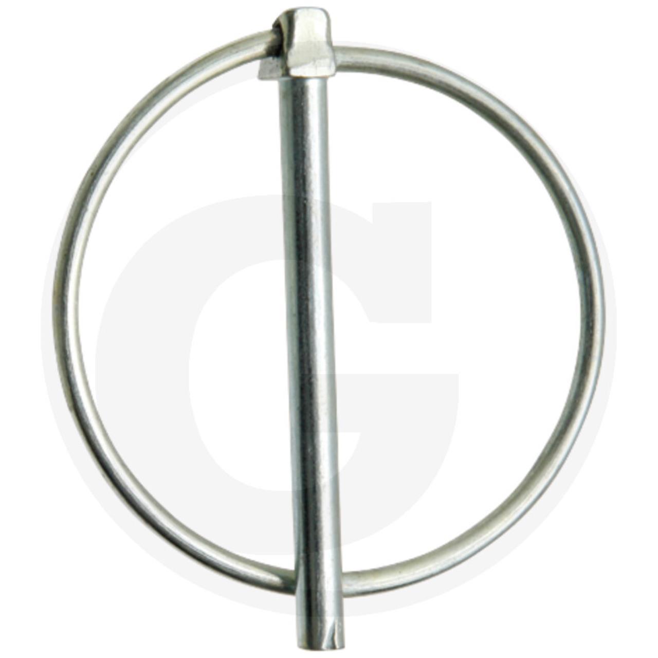 Ringsplit 6X70(60) mm stift, stor ring