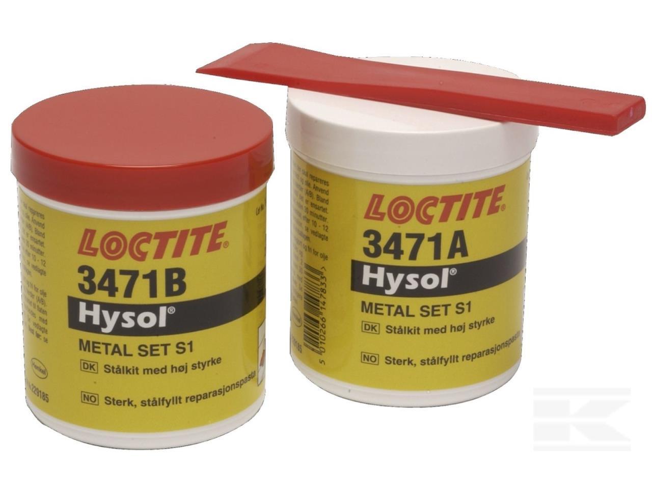 Loctite 3471 metalsæt 500 gr. stål