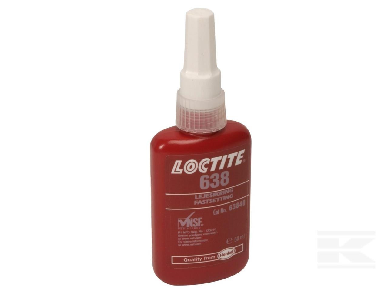 LEJESIKRING LOCTITE 638 50 ML