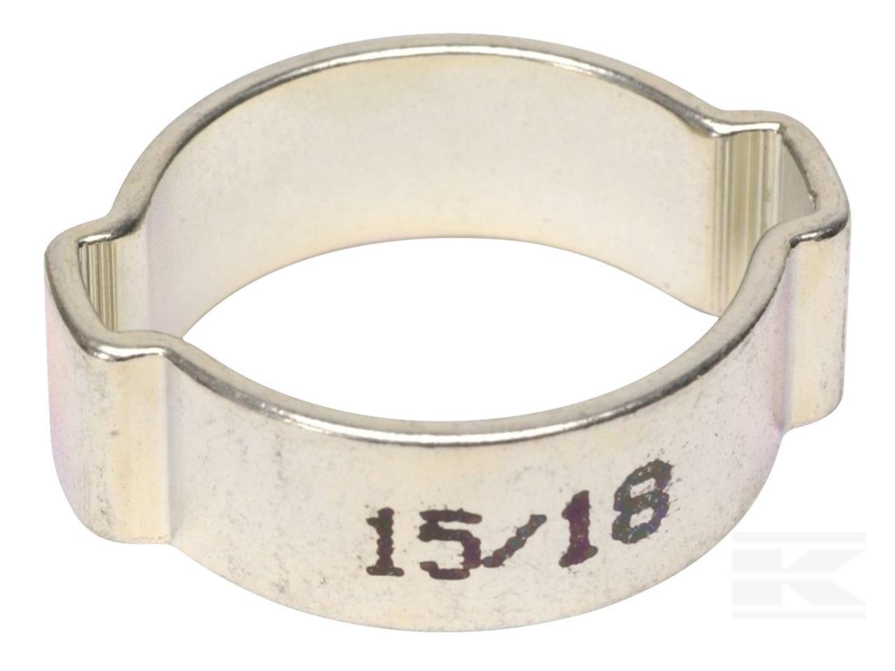 Øreclamp, ABA 15-18mm