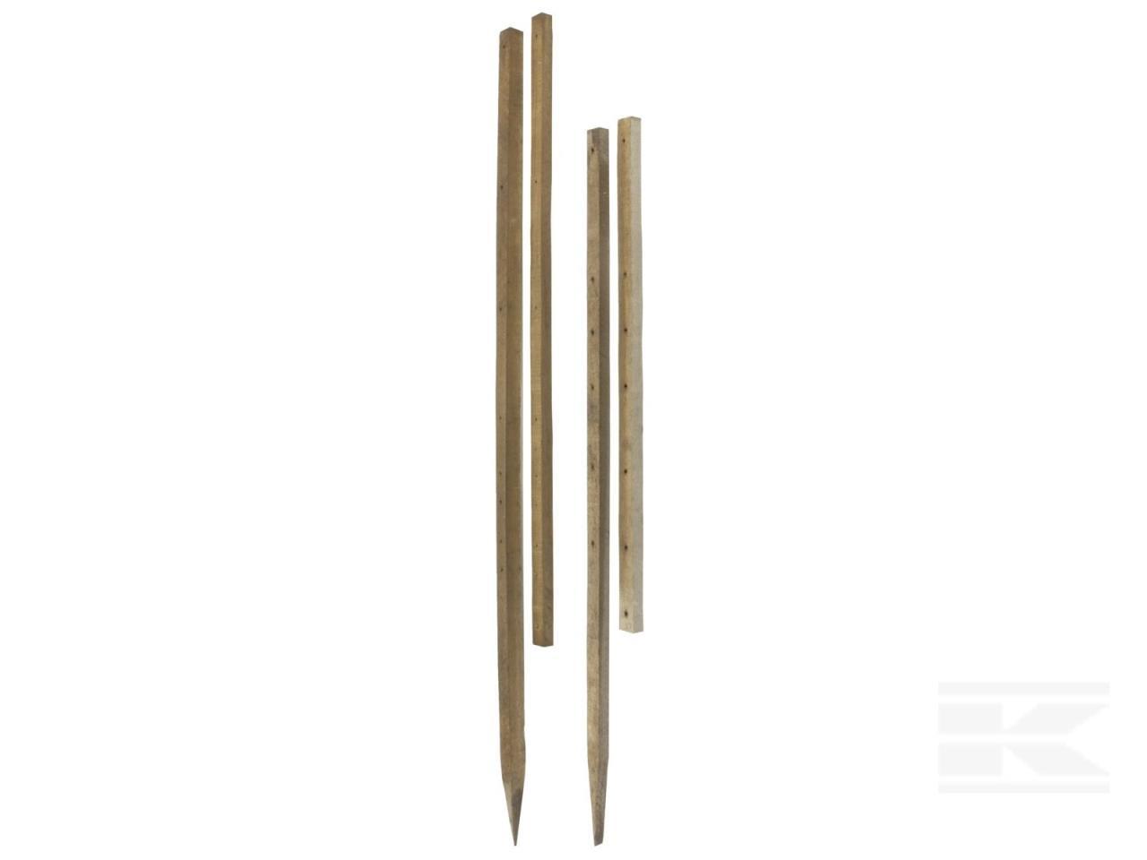 Pæl, Isotræ, 1350x38x26mm