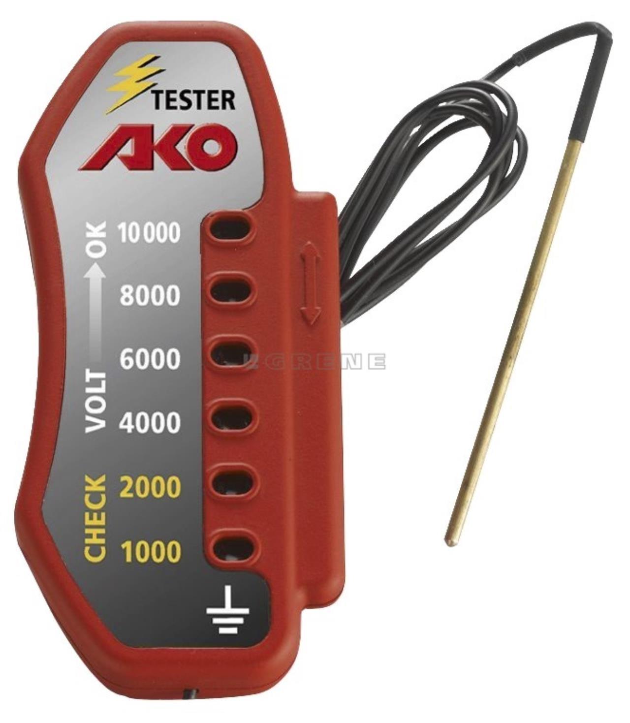 AKO hegnstester m/10 lamper