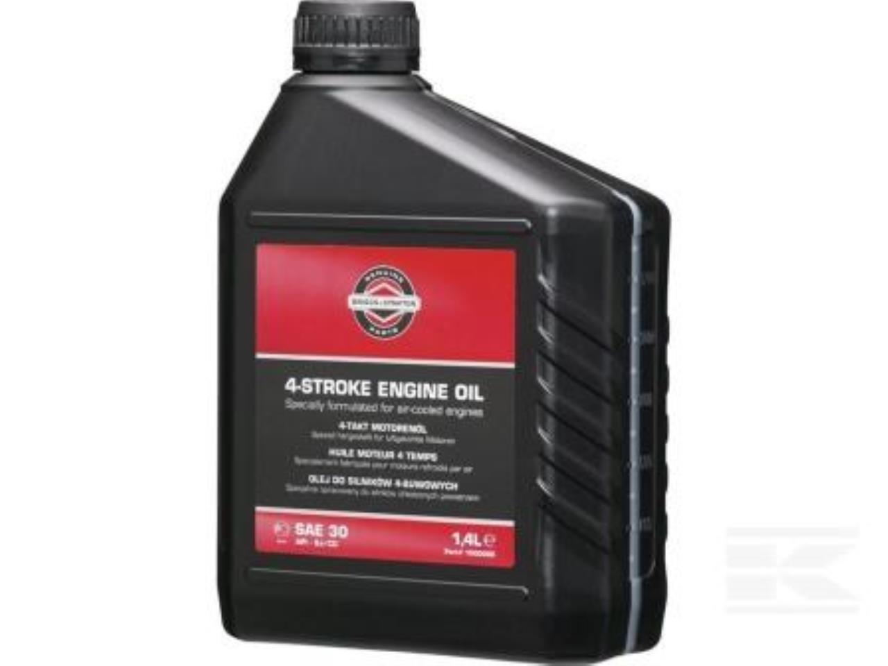 Briggs & Stratton SAE30 motorolie, 1,4 ltr.