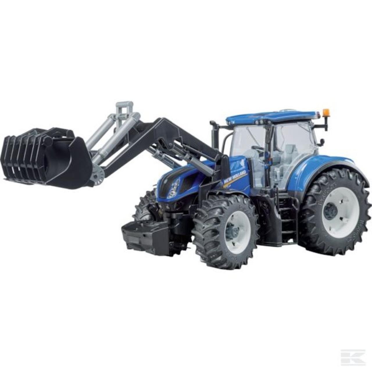 New Holland T7.315 traktor med frontlæsser 1:16