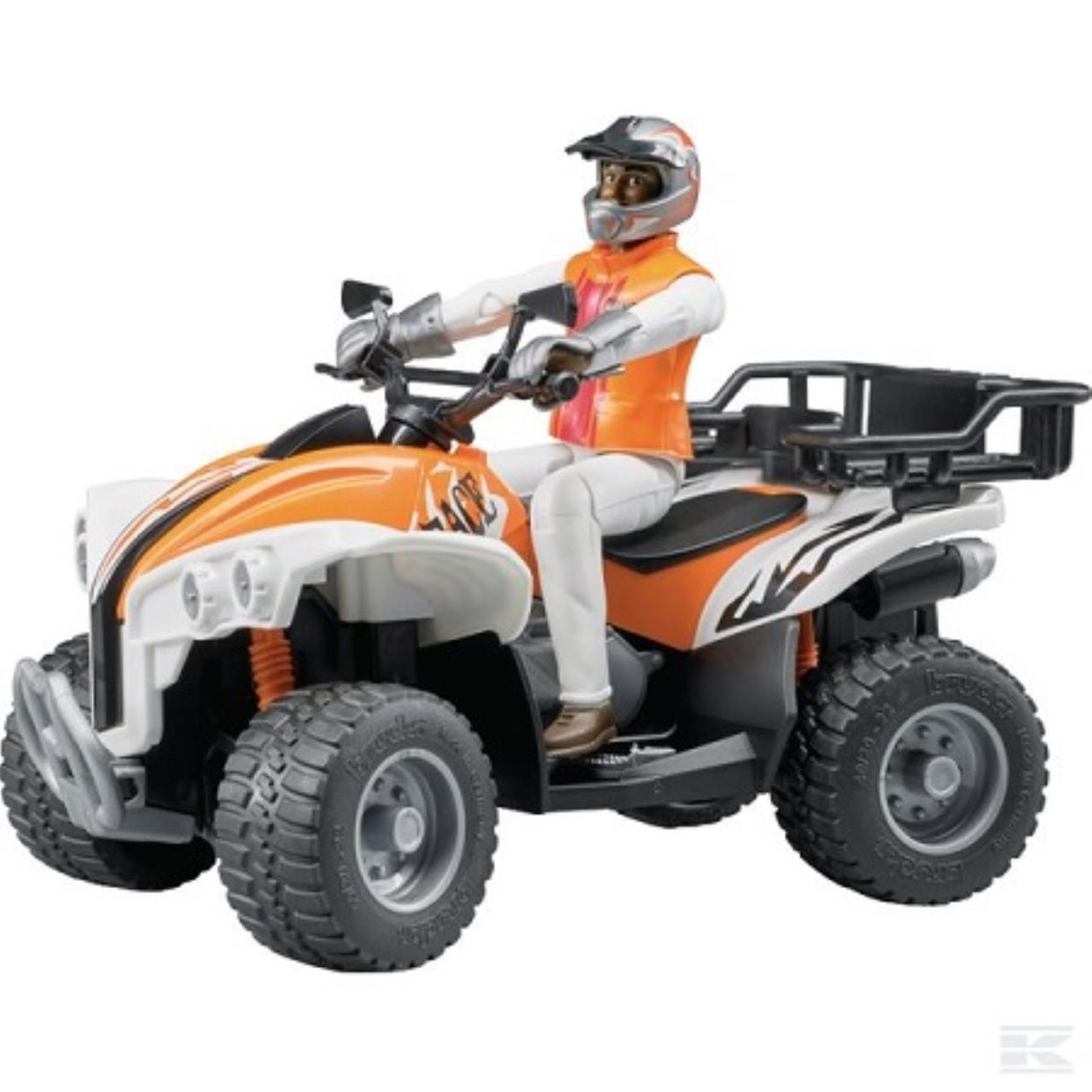 Bworld 4-hjuls ATV crosser  med fører