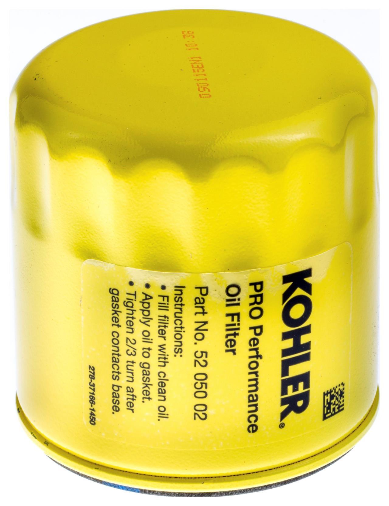 Kohler oliefilter, SV470-600