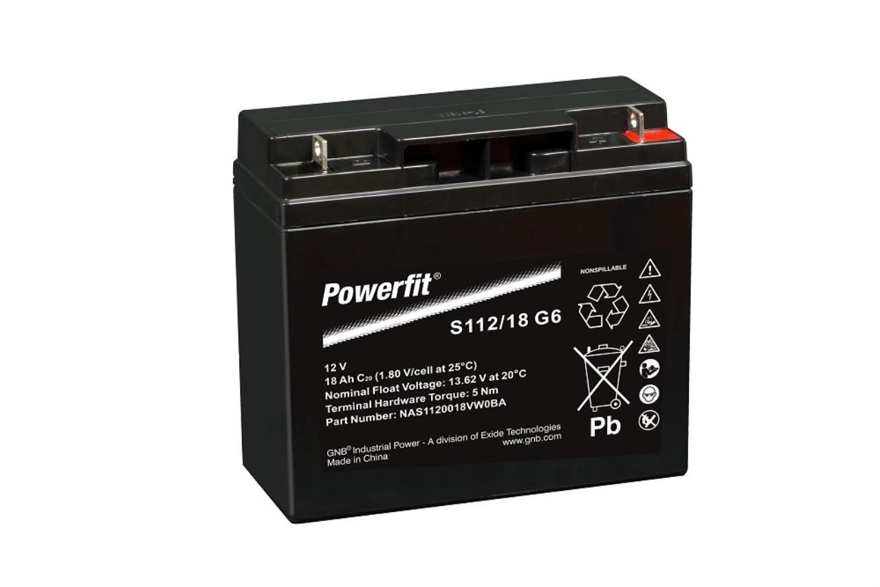 Startbatteri f. Stiga 12V-18Ah.  se  note