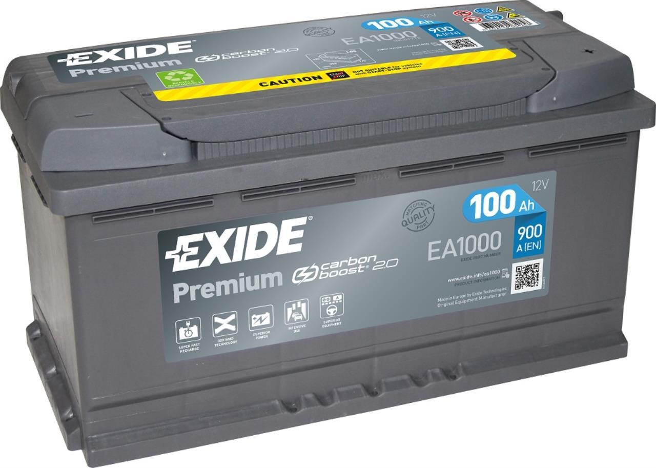Startbatteri DIN 49000