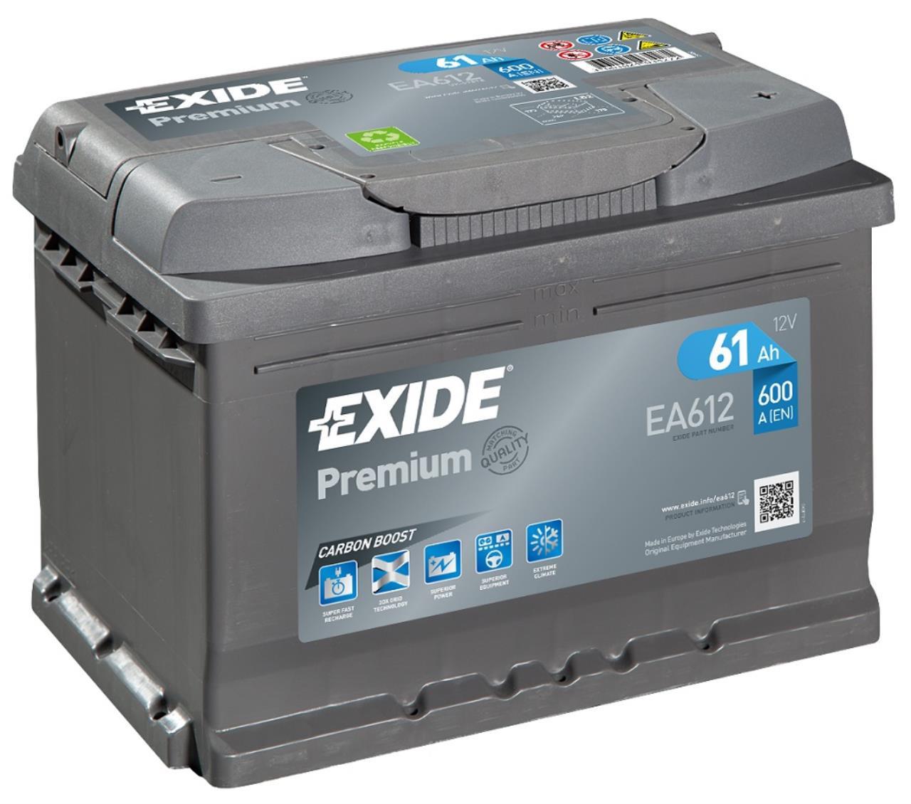 Startbatteri DIN 46000
