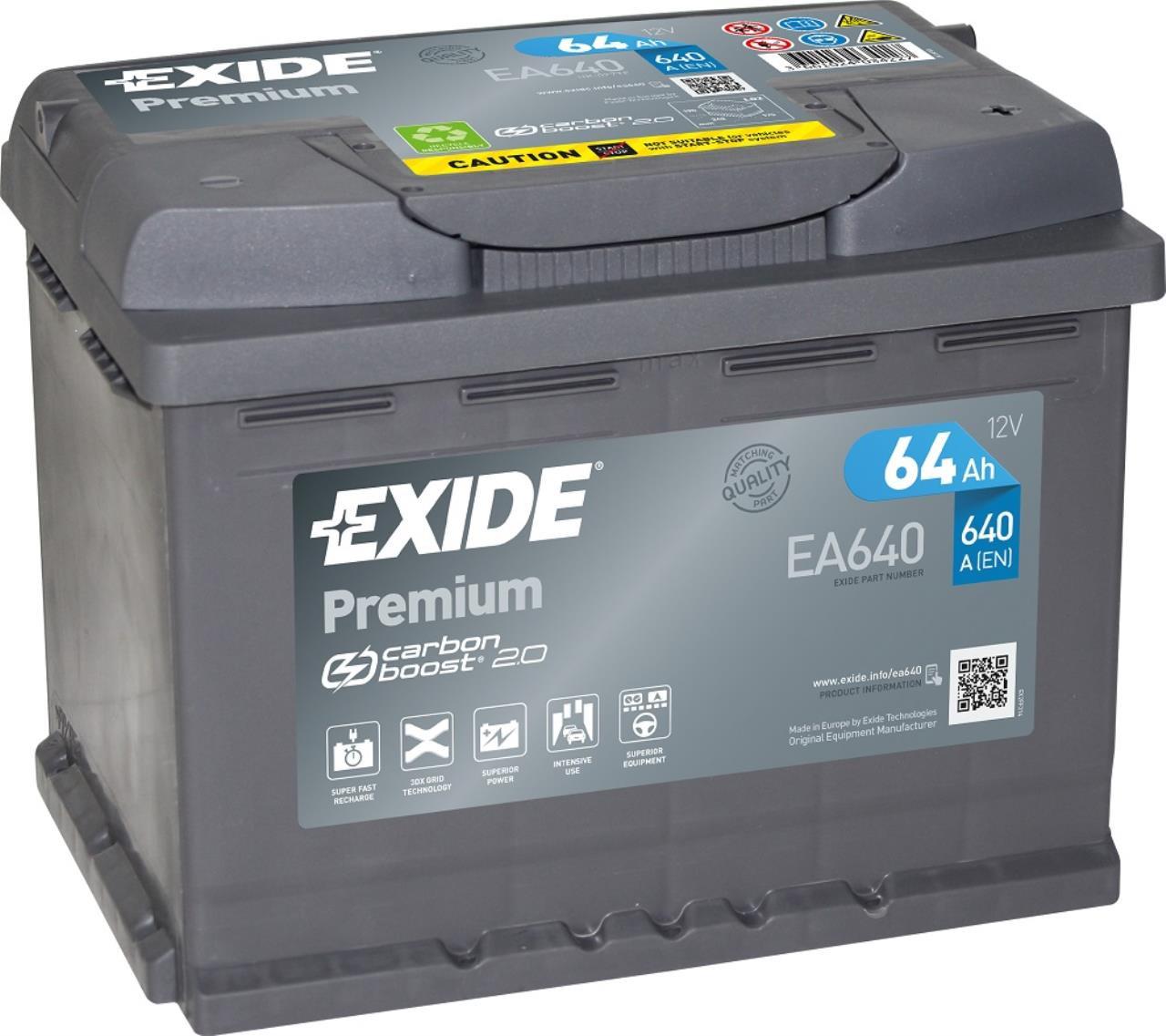 Startbatteri DIN 46400