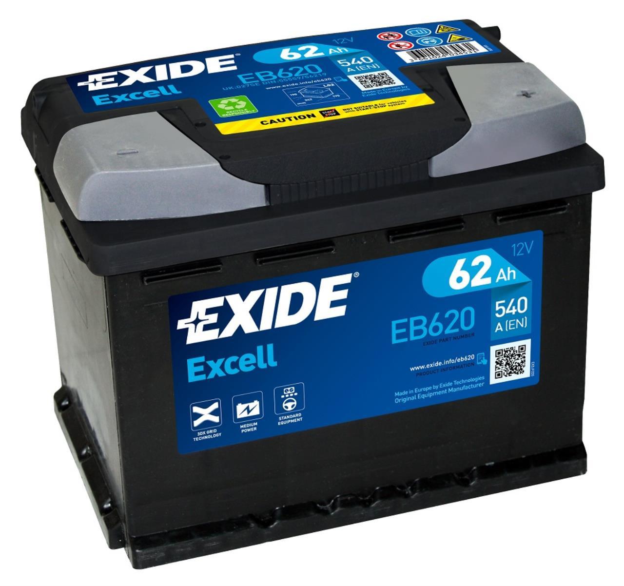 Startbatteri DIN 56219
