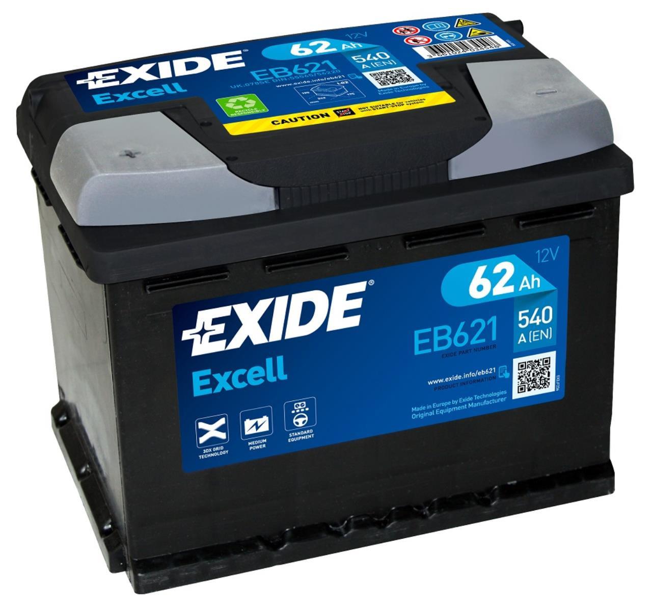 Startbatteri DIN 56220