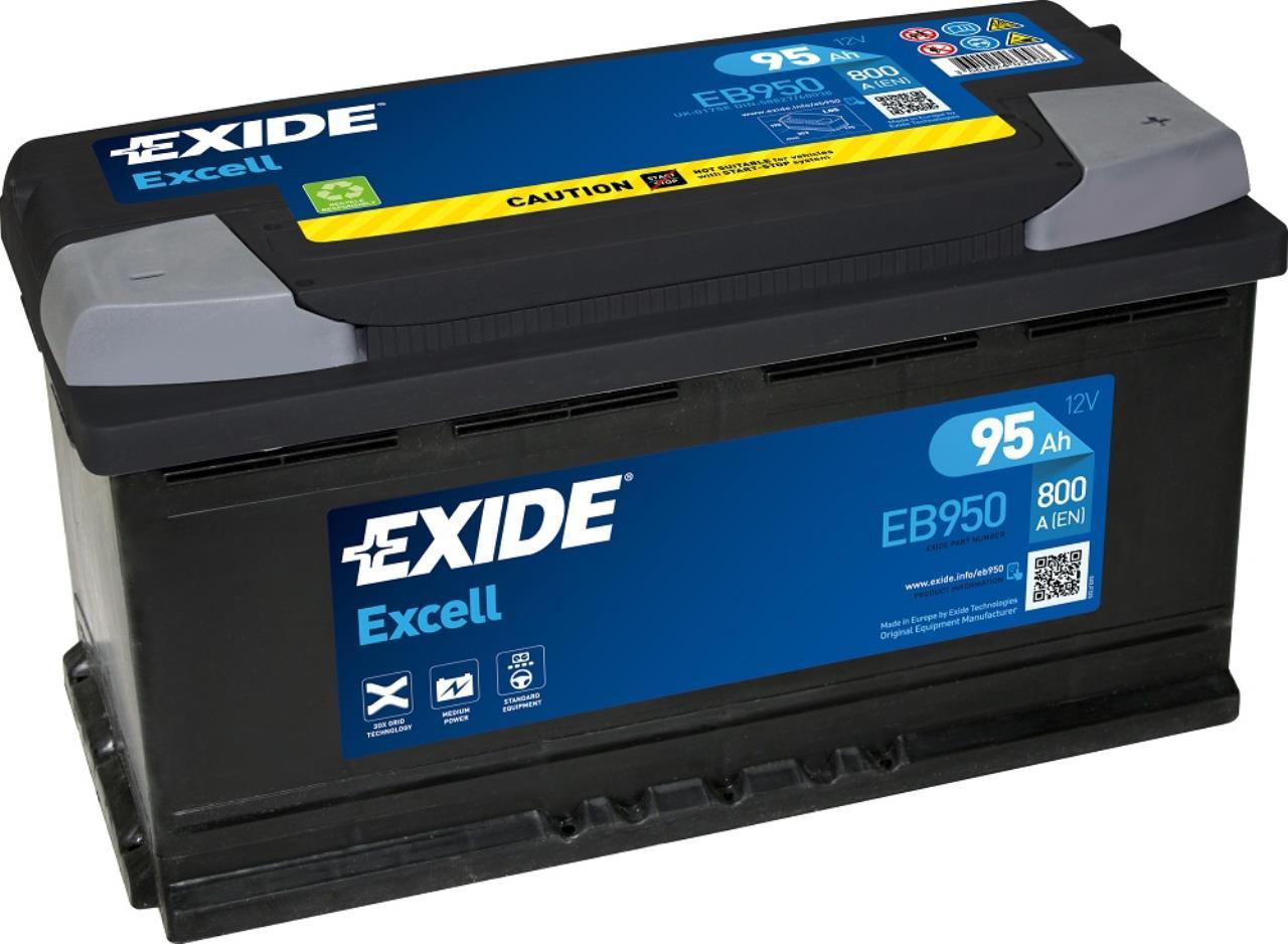 Startbatteri DIN 60038