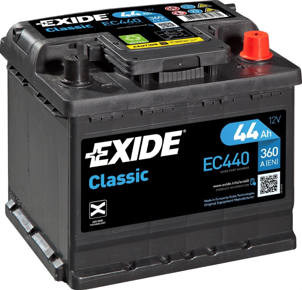 Startbatteri DIN 54459