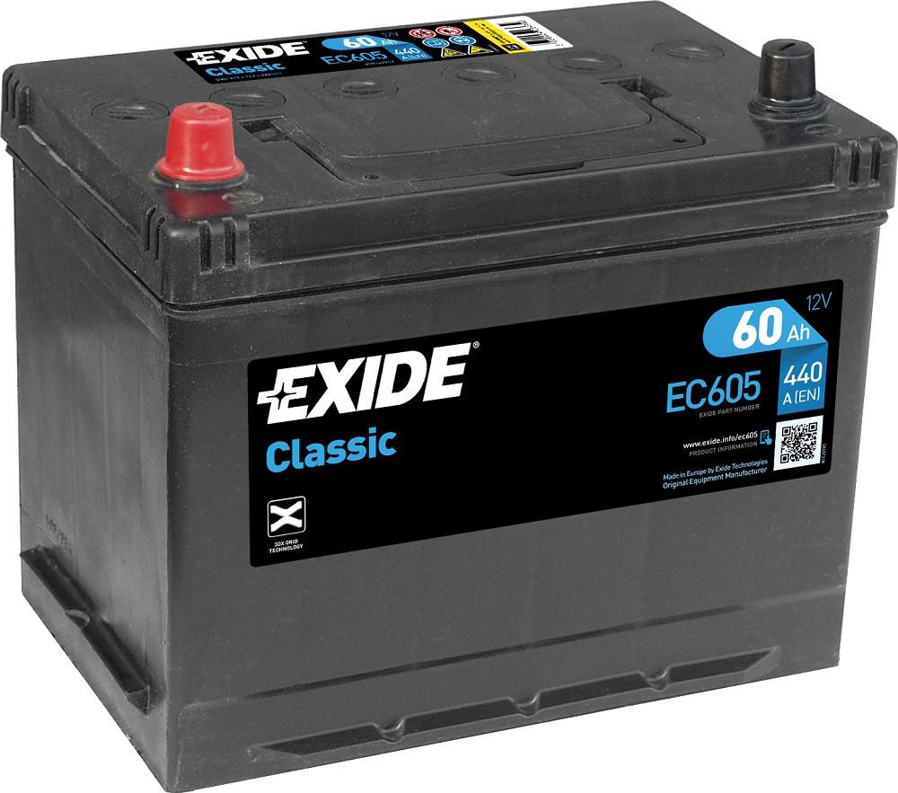 Startbatteri DIN 56049