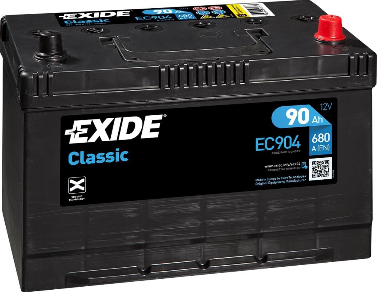Startbatteri DIN 59518