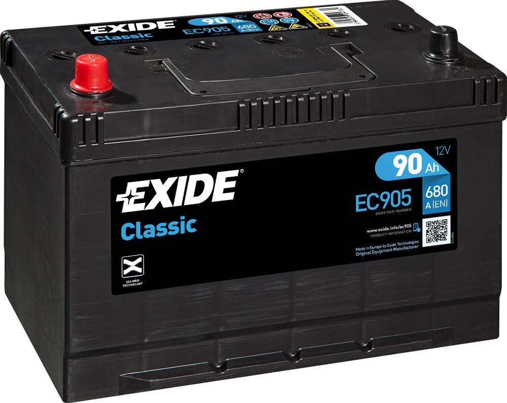 Startbatteri DIN 59519