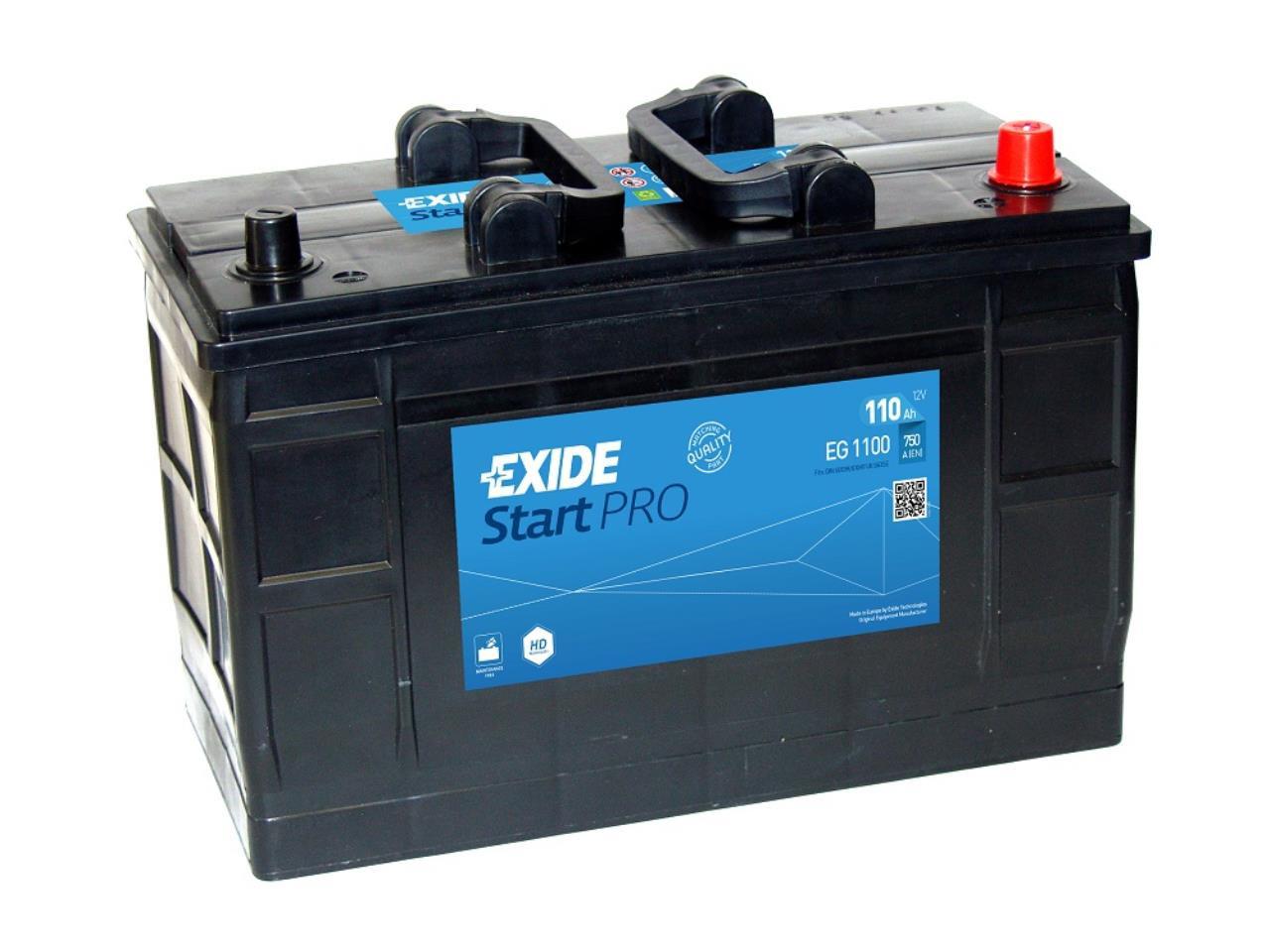 Startbatteri DIN 61003
