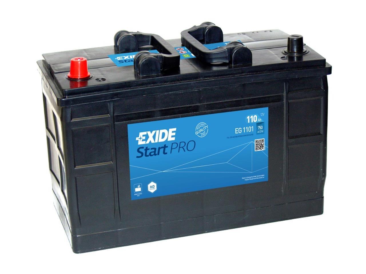 Startbatteri DIN 61004
