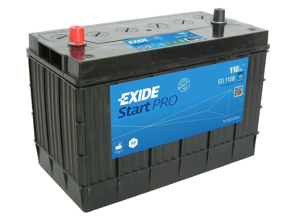 Startbatteri DIN 83165