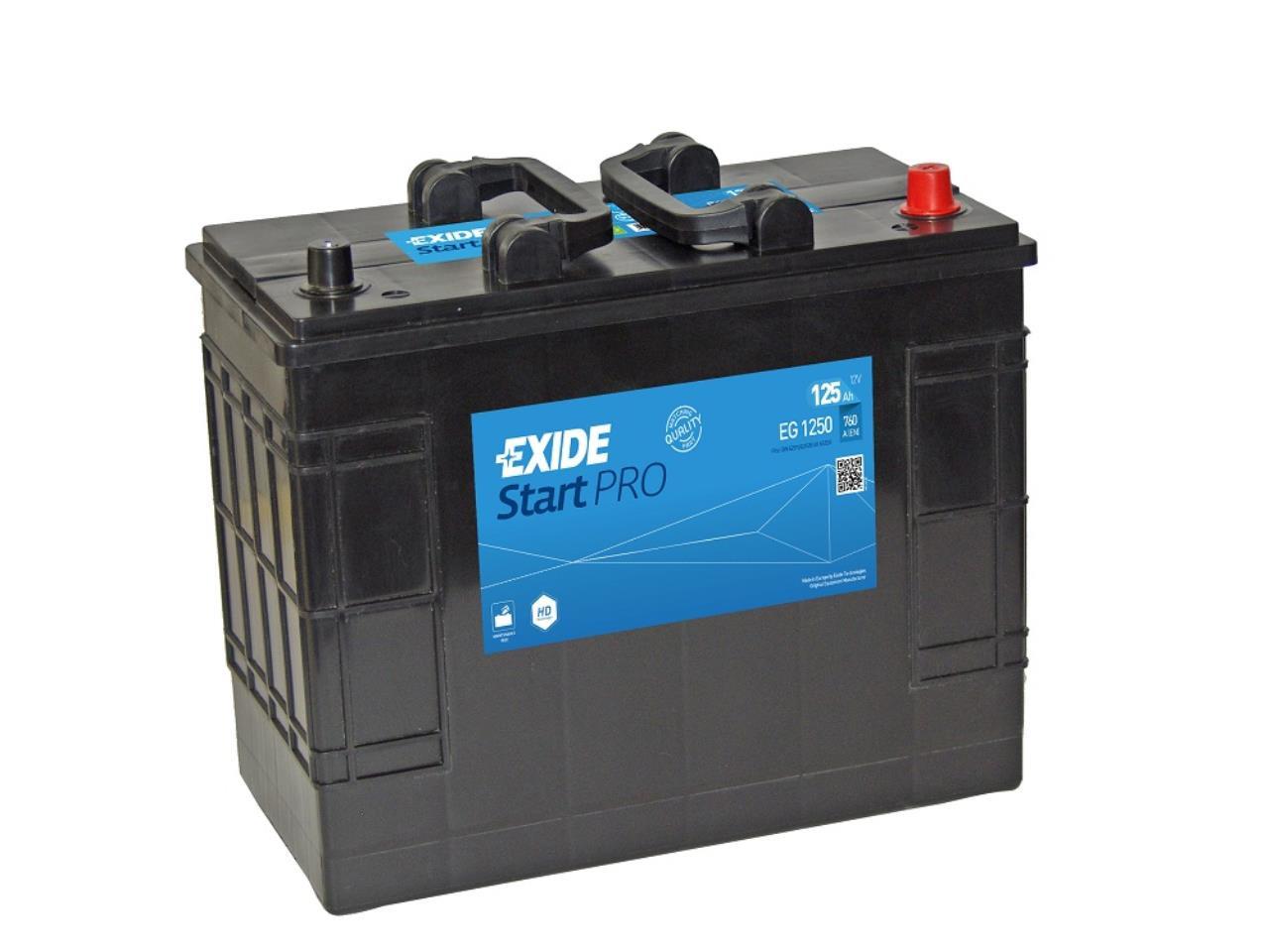 Startbatteri DIN 62511