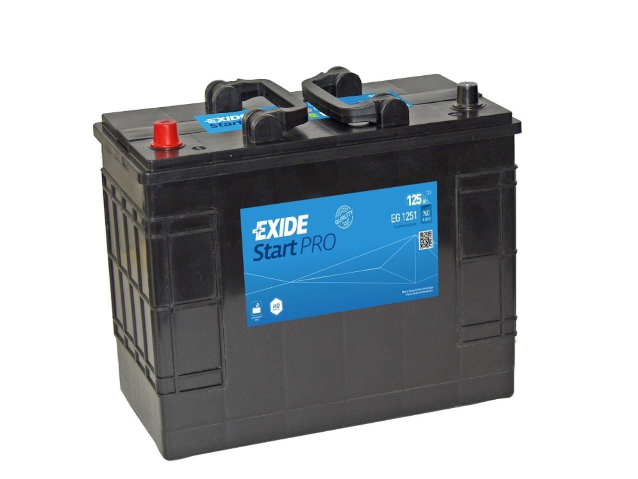 Startbatteri DIN 62513
