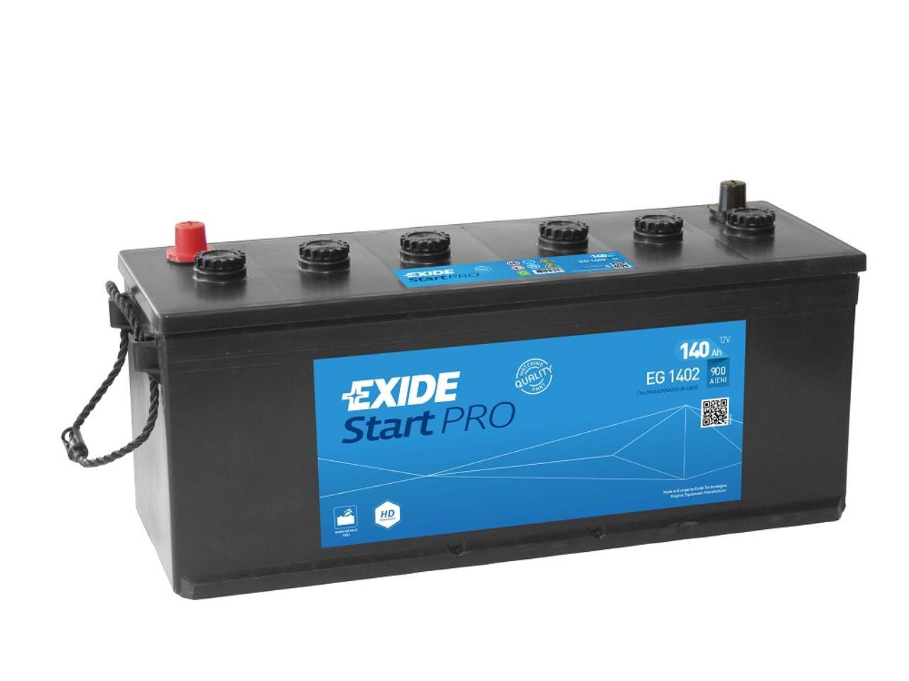 Startbatteri DIN 64009