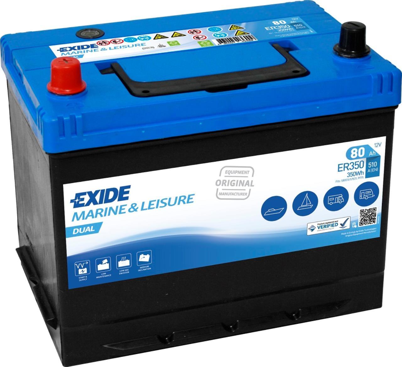 Startbatteri DIN 58003