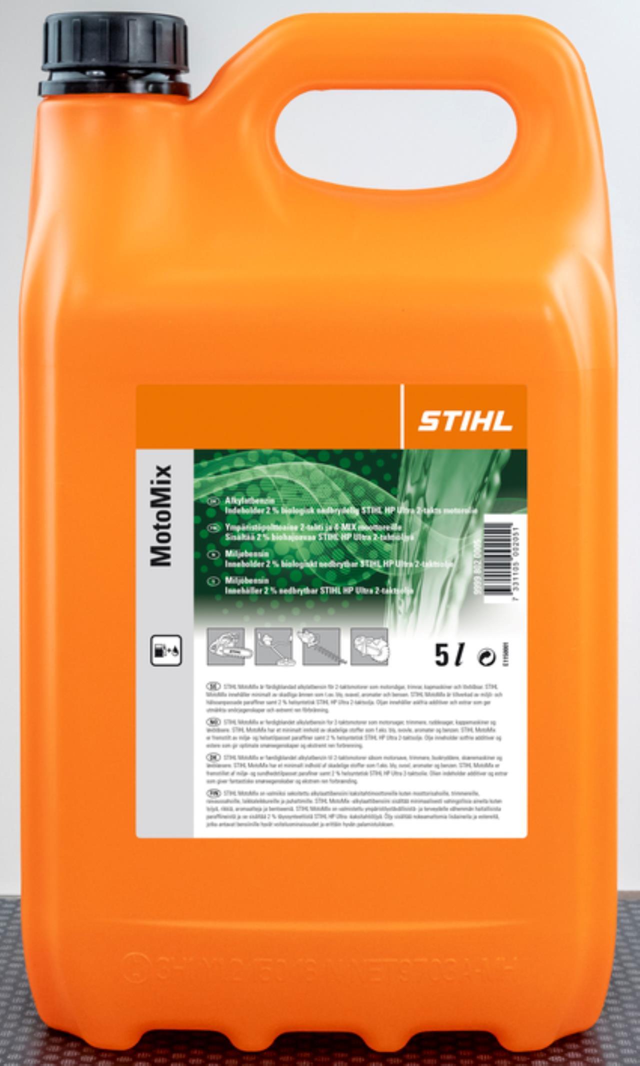 Stihl Miljøbenzin 2-Takt 5Ltr.