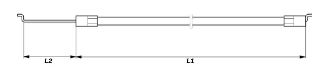 Stiga gaskabel Pro 16-20
