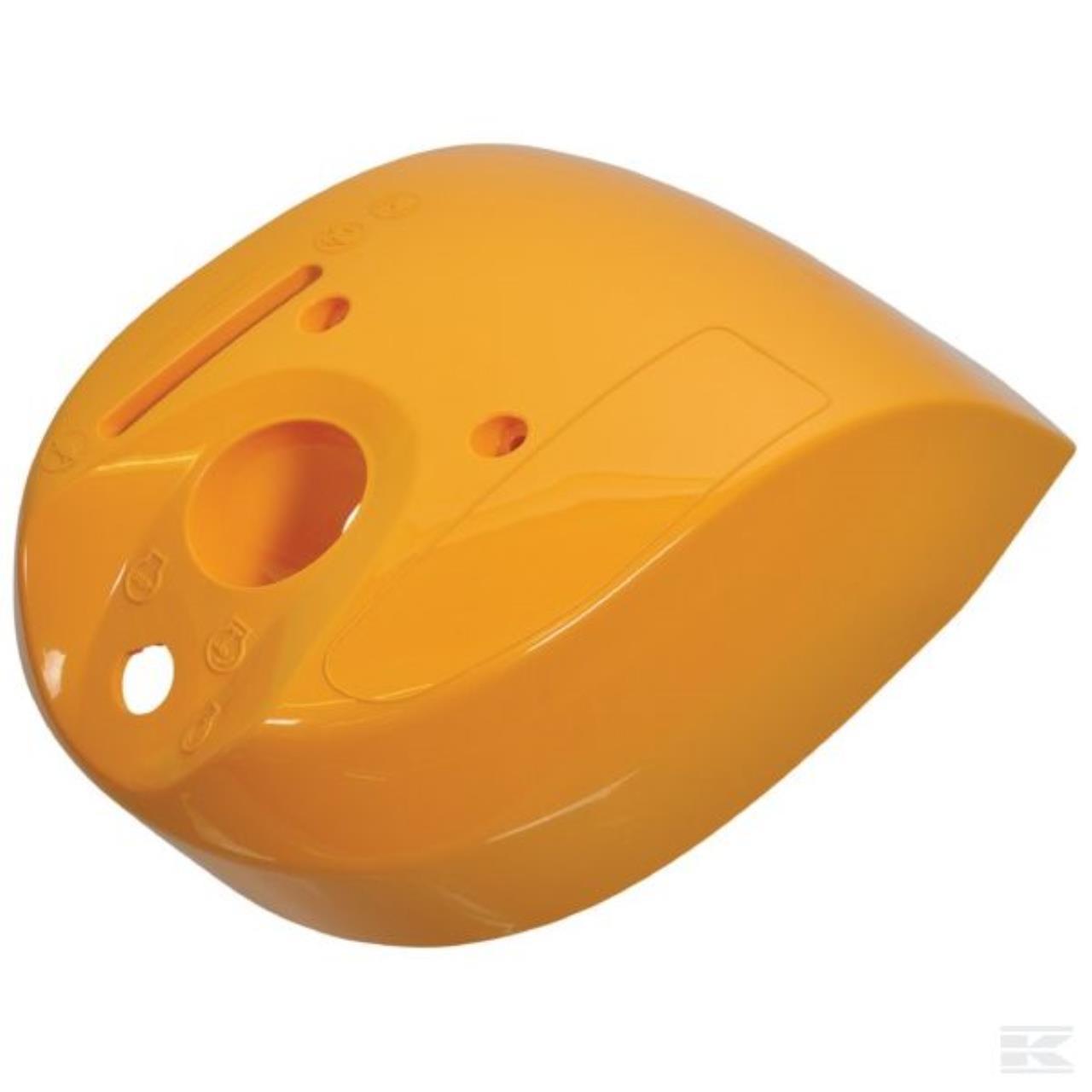 Stiga dæksel ved styrstamme, gul