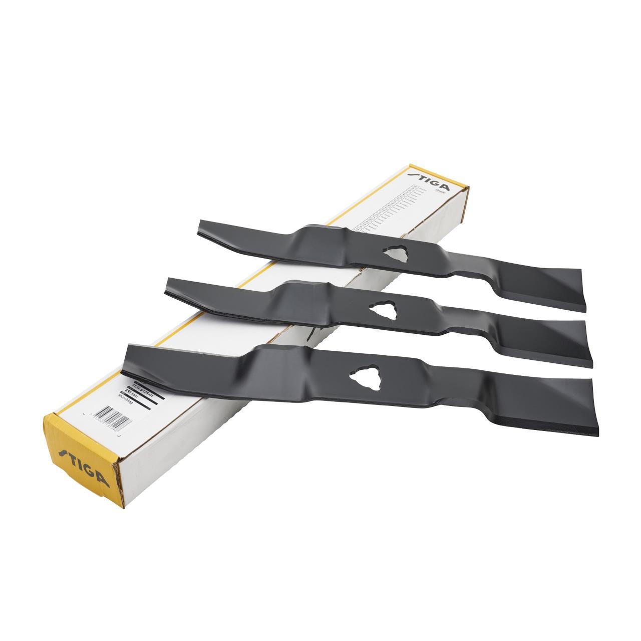 Stiga knivsæt 125 Combi (3stk)