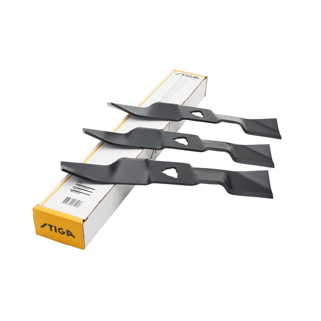 Stiga knivsæt 3 stk., 100 C