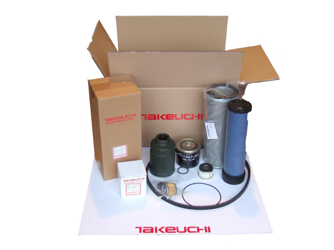 Takeuchi TB250 filtersæt
