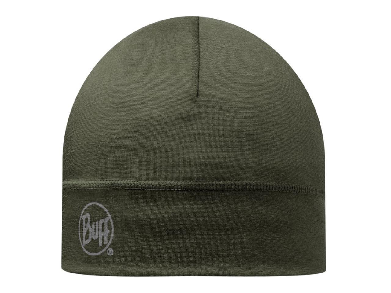 Buff Merino 1 Layer Hat - Cedar, hue grøn