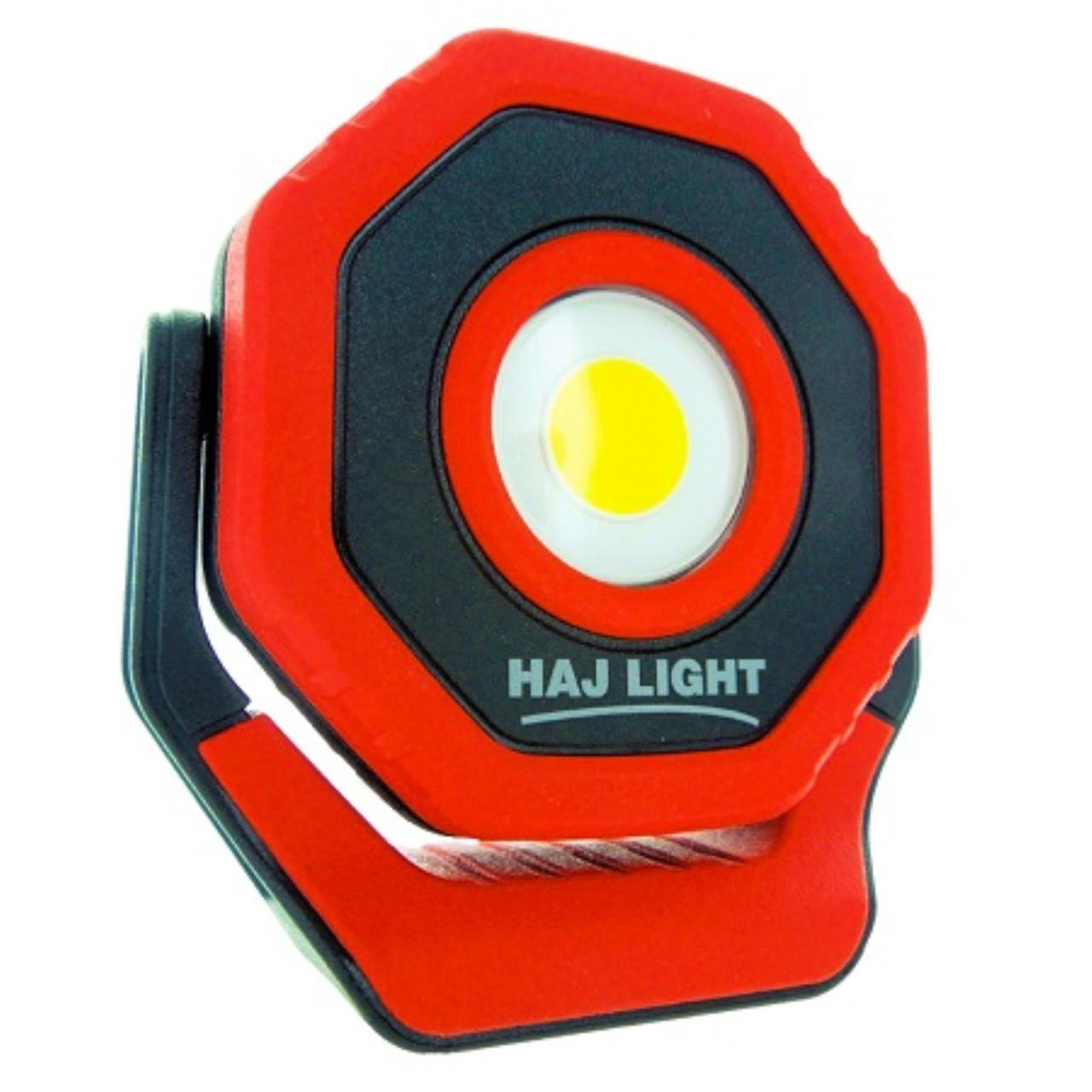 HAJLIGHT Genopladelig arbejdslampe 700lumen magnet