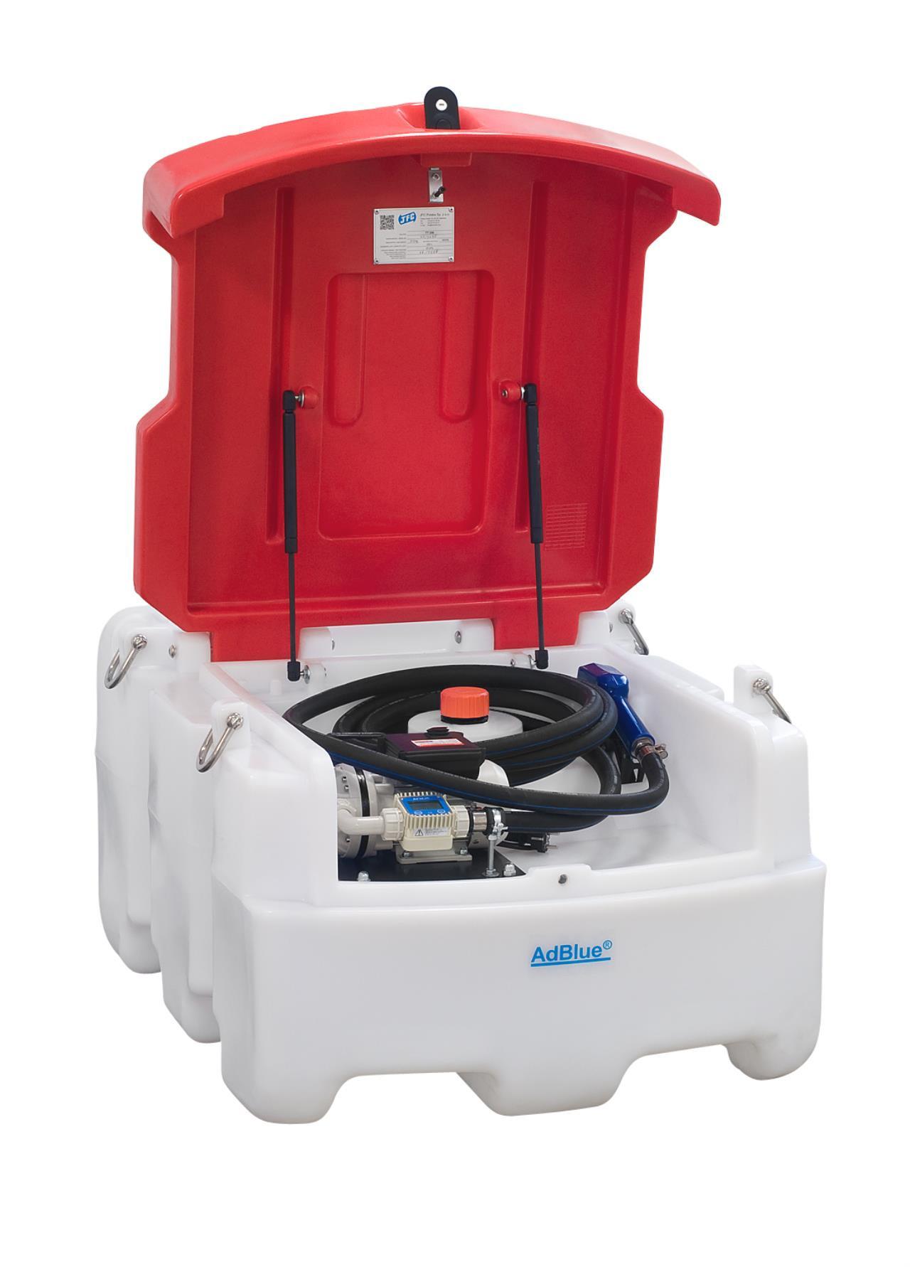 Kabi Adblue tank, 12V pumpe, 250 ltr.