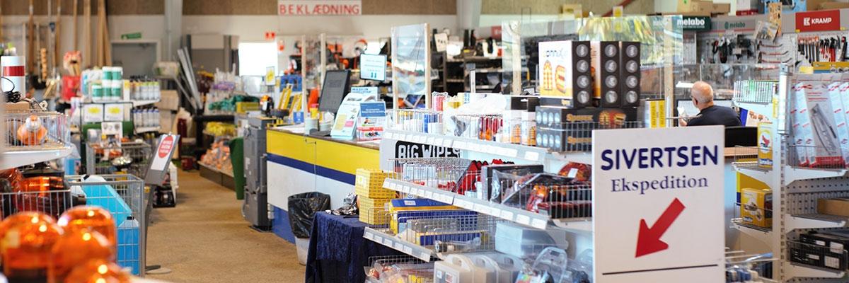 Sivertsen butik i Roskilde